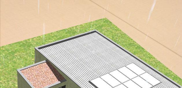 Reaproveitamento da água da chuva