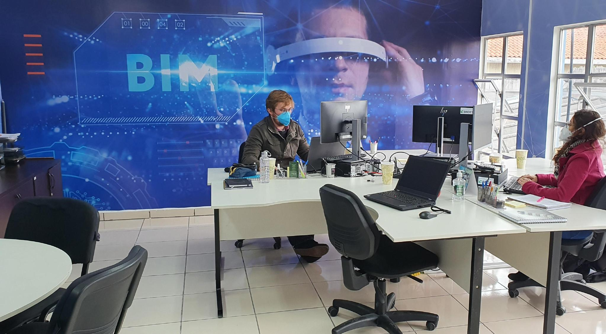 Imagem sobre Residências de BIM e IA do Senai são oportunidade para formação de profissionais para atender demandas das indústrias