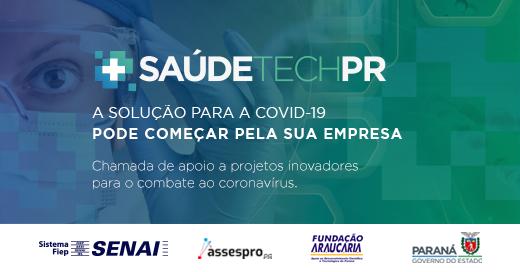 Imagem sobre Edital Saúde Tech PR recebe 76 propostas de empresas