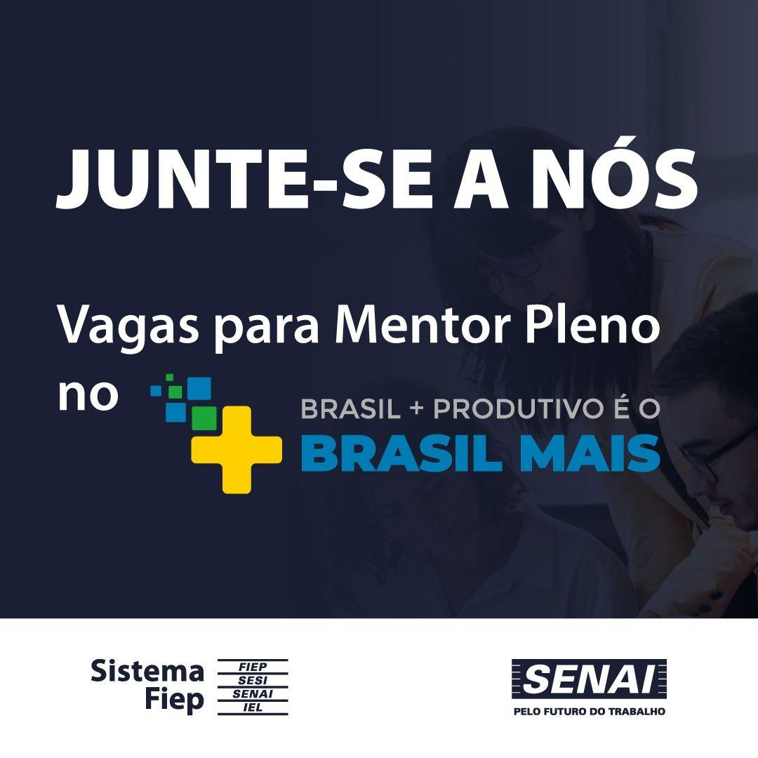 Imagem sobre Senai no Paraná procura mentores para Programa Brasil Mais
