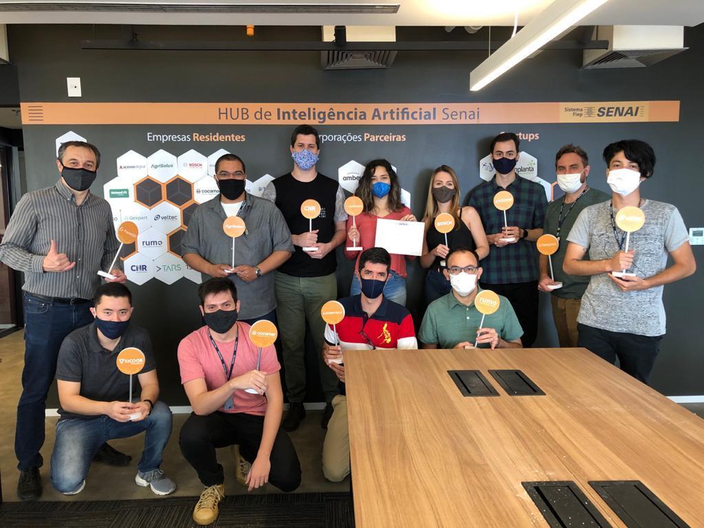 Imagem sobre Hub de Inteligência Artificial do Senai completa primeiro ano de funcionamento