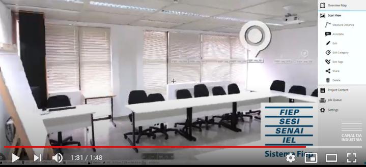 Imagem sobre IST de Construção Civil oferta serviço de levantamentos tridimensionais de edificações existentes